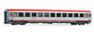 ACME 52615 OBB 'Bmz' 2nd Class Coach, 2-Tone grey with Red Roof, Era V/VI
